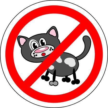 Inscrivez-pas de chats Banque d'images - 25880488