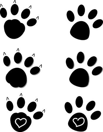 cat paw: Paws Illustration
