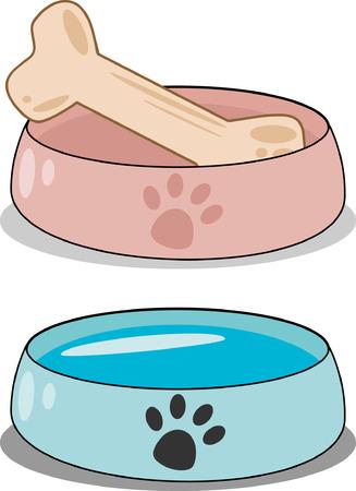Dog food Banque d'images - 25880508