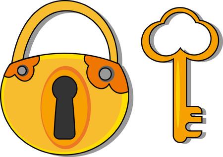 lockout: Padlock  Illustration