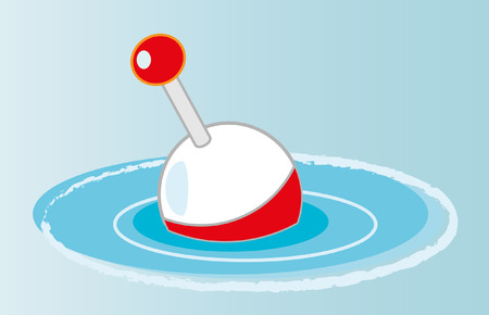 Fishing float Vector