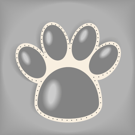 Paws illustration Vector