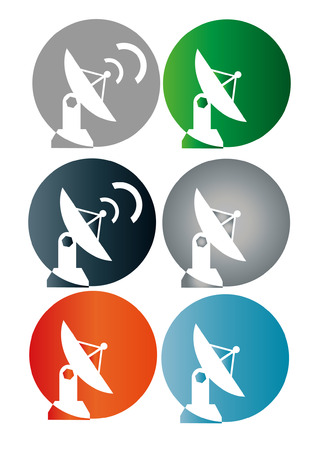 emitter: Satellite dish  Illustration