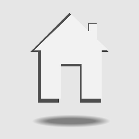 Creative design of house   Vector