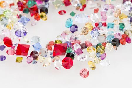 Collection de beaucoup de pierres naturelles différentes Banque d'images - 28626941