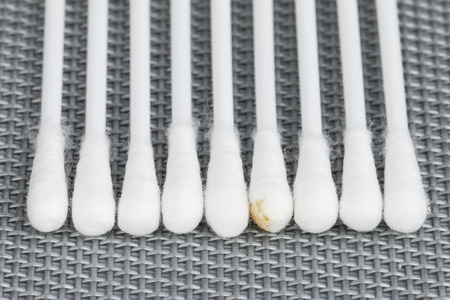 Cotton swab  photo