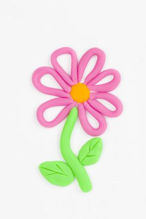 plasticine: Plasticine flower
