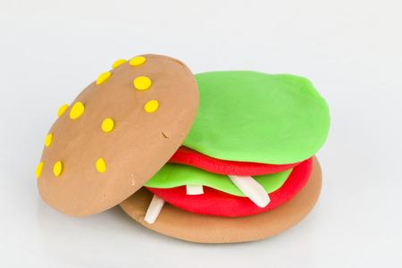 plasticine: Plasticine  hamburger