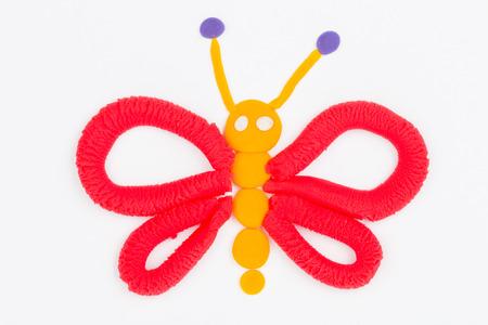 plasticine: Plasticine butterfly