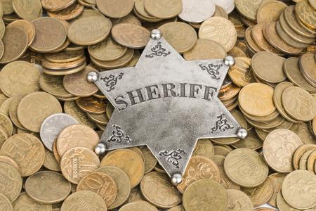 sheriff badge: Sheriff Identificador