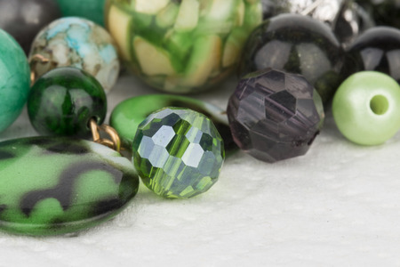 stock image: Homemade bead jewelry - Stock Image.