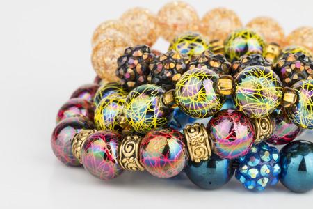 Homemade bijoux de perles - Image. Banque d'images - 41177086