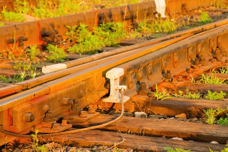 stock image: Railway track. Stock Image.
