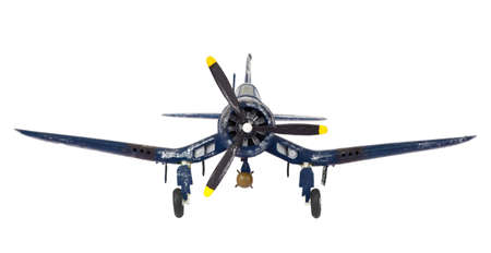 fighter plane: World War II isolated propellor aircraft fighter plane
