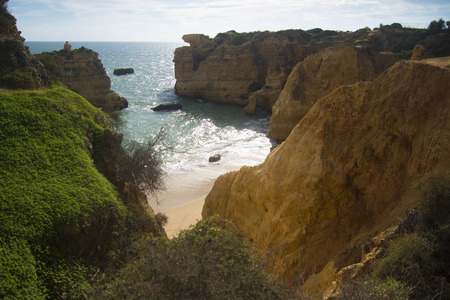 edges: Cliffs of the South Coast of Portugal.