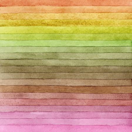 Handmade watercolour design element use for or scrapbook elements, design or print. Stock Illustratie
