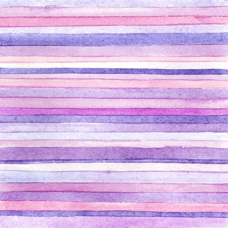 Striped hand drawn watercolor background. 免版税图像 - 42805200