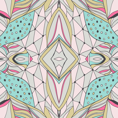 paisley: Seamless pattern can be used for wallpaper, fills, background
