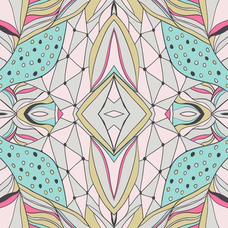 disegni cachemire: Seamless pattern pu� essere utilizzato per carta da parati, riempimenti, fondo