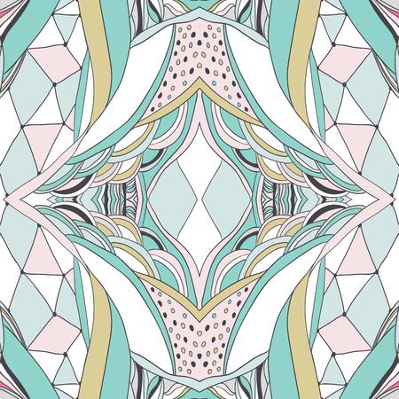 disegni cachemire: Seamless pattern può essere utilizzato per carta da parati, riempimenti, fondo