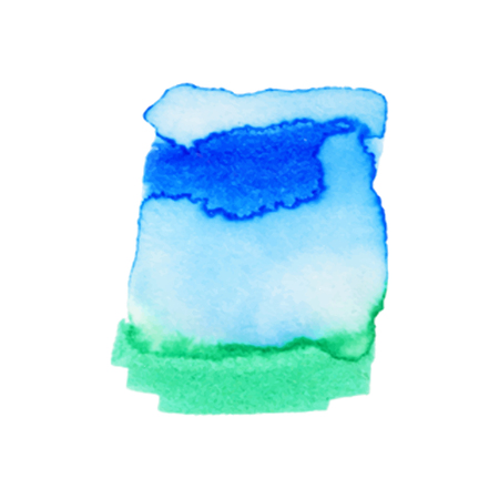 Abstract hand paint watercolor background ,vector illustration, stain watercolors colors on wet paper. Watercolor composition used for scrapbook elements or print, design, web, label. 免版税图像 - 99317137