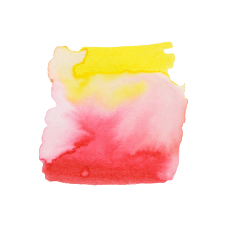 Abstract hand paint watercolor background ,vector illustration, stain watercolors colors on wet paper. Watercolor composition used for scrapbook elements or print, design, web, label. 免版税图像 - 99317188