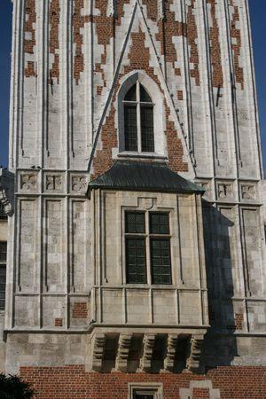 rynek: old fancy window Stock Photo