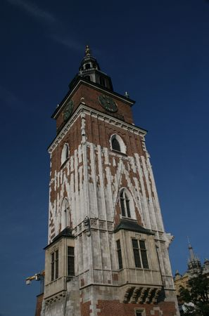 cracow: city hall, cracow