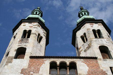 andrew: St Andrew church, Krakow, Poland
