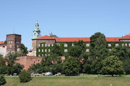 wawel: renaissance wawel castle, krakow, poland