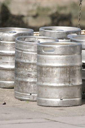 kegs: kegs Stock Photo