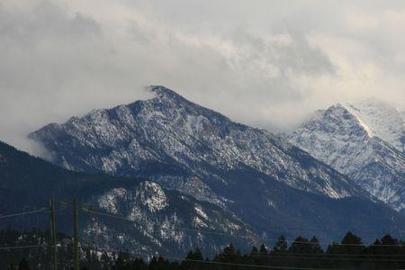 radium: british columbia mountains, canada