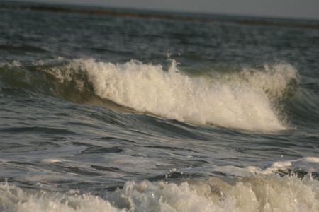inflow: dangerous sea Stock Photo