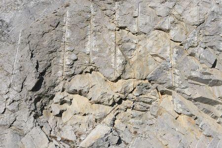 scraped rock photo