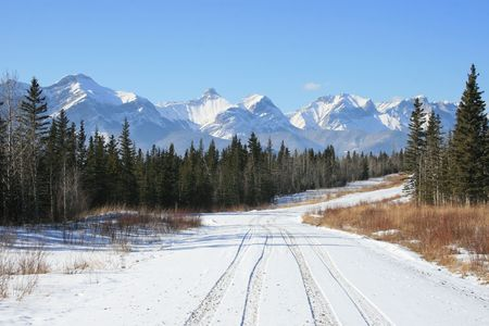 rocky road: i finally reached caadian rockies