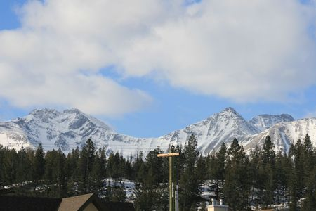 rocky mountains, jasper, canada photo