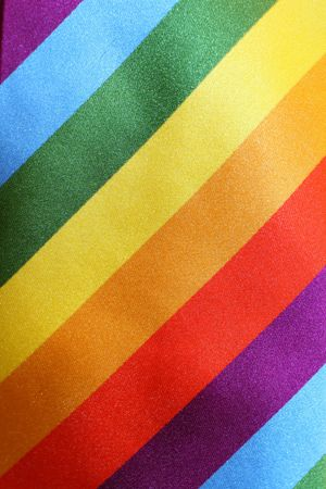 rainbow tie Stock Photo
