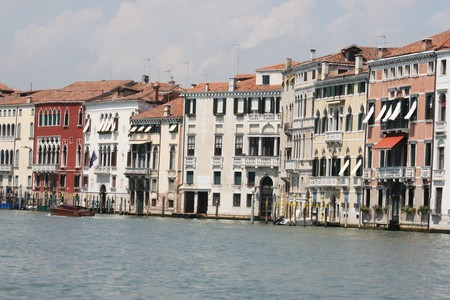 wide Grand Canal, Venice, Italy Stock Photo - 7562113