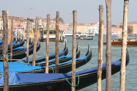 Gondolas in Venice, Italy Stock Photo - 7540638