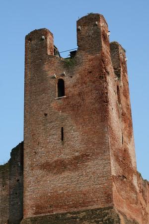 outpost: Medieval Citadel Tower, Castelfranco Veneto, Italy