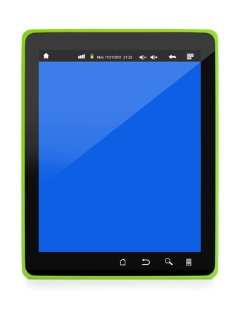 3d illustration: Technology and Electronics. Design Tablet PC Stock Illustration - 15557095