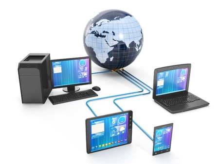 computer equipment: Internet technology. Group techniques of networked