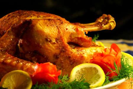 baked turkey photo