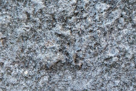 The texture of the stone. The material is stone. Gray rough background. rough stuff. Banco de Imagens