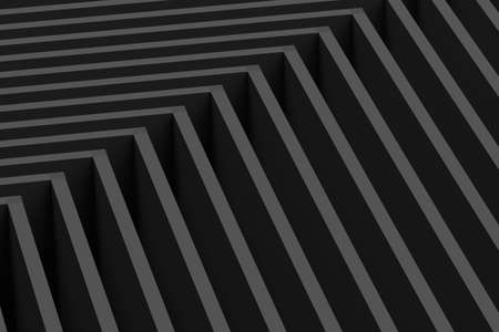 gray lines abstraction 3d rendering background