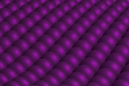 Abstract background from spheres of lilac color 3D rendering Banco de Imagens