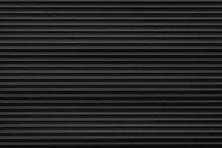 gray background of volumetric horizontal stripes in different lighting. roller shutter texture gray uniform look top