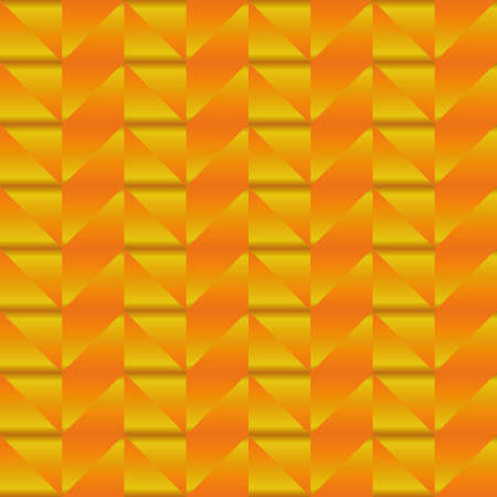 golden orange abstraction in the form of ropes and patterns. orange bright abstract pattern illustration