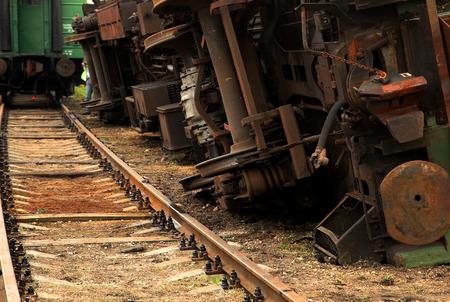 goods train: Inverted Rail goods train