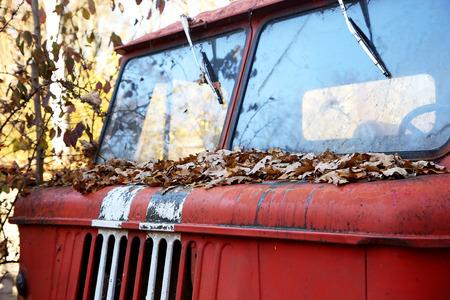 windscreen: part of the vintage cabin car - windscreen wipers